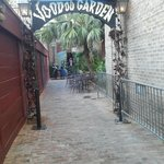 VooDoo Garden alley entrance to House of Blues