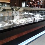 Salad area in Medley Buffet
