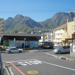  Taken ouside hotel with view of Table Mountain and immediate Environs