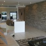 Lovely stone feature wall