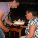  my partners 40th birthday at haroula 2yrs ago