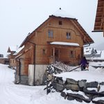 Back of the Chalet