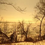 Lake Erie in the Winter from across the road!