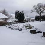  Snowy view from Farmhouse march 2013