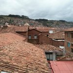  View of Cusco from the bar