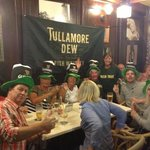 St Patrick's Day fun at The Bulldog