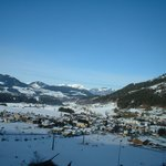  The village of Westendorf (Hotel Jakobwirt is in right in the centre near the church)
