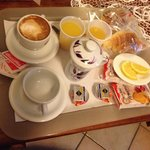  Colazione in camera