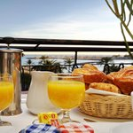 In room breakfast - Sea view balcony
