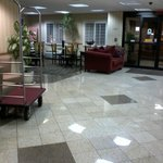 Lobby toward breakfast area