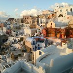  Oia... view during sunset...