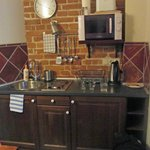 Sweet little kitchen area