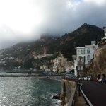 10 min walk to Amalfi, just around the corner