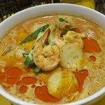 spicy curry laksa