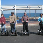  4 on a Segway Ride