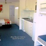  Alex Beach Cabins Queen Ensuite