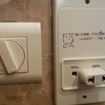  Adapter in bathroom