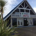  front of Oasis Motel