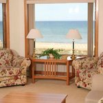  Dramatic views of our Lake Michigan beach front at Glidden Lodge Beach Resort.