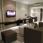  living area di Family Suite