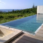 Villa pool and outdoor bath
