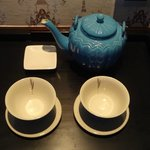  Tea Set In Room