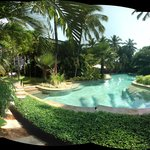  Panorama view of the pool