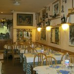 Trattoria da Ginone - bright and welcoming.