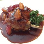 Winships Duck Confit with Plums