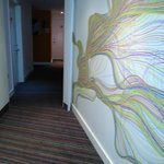  art work on corridors