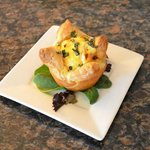  Eggs Florentine in Puffed Pastry