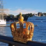  Crown on Skeppsholmen bridge.