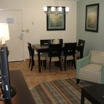 Family suite dining area