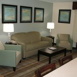  Living area family suite