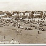 Postcard of Paignton in the 40's