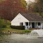 The Pond House & relaxing Fountain