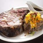 King Cut Prime Rib with Loaded Jumbo Baked Potato