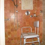 Shower - Roll-in Wheelchair Access Room