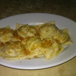  Fish ravioli with Bottaga