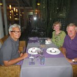 Paula and Russ with Dr. Sujana, our host