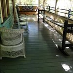  the other half of the Carriage house private veranda