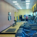 Part of the Gym (all the machines are on this side)