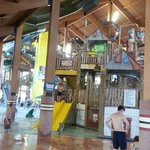  One of four Indoor Water Parks on the property