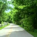 Little Miami Bike Trail/Ohio to Erie Trail at Hearthstone Inn & Suites, Cedarville, OH