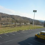  View of parking lot.