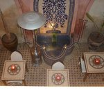 View of dining area from Meknes