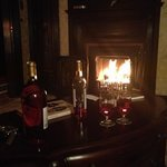 romantic evening by the fire!!