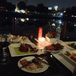 dining by the river at Deck1