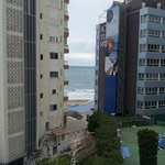  view of sea and flats from our room 302