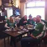  Some German guests ready for St Paddys Day 2013